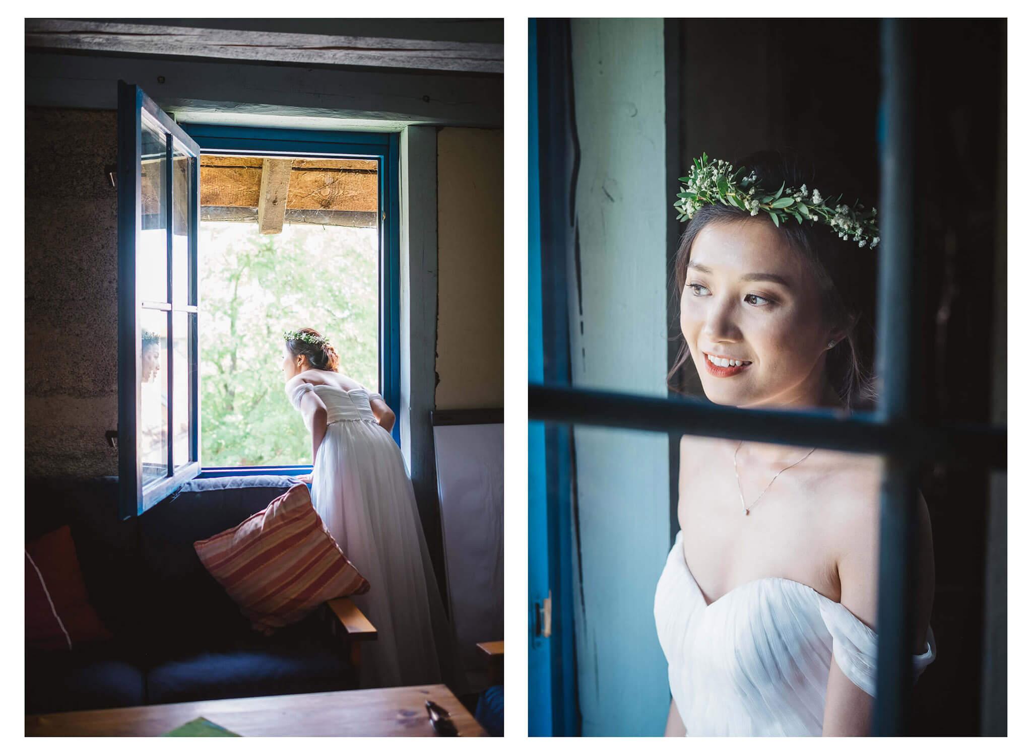 Svatba v Hliněné Baště v Praze Fotograf Vojtěch Láznička