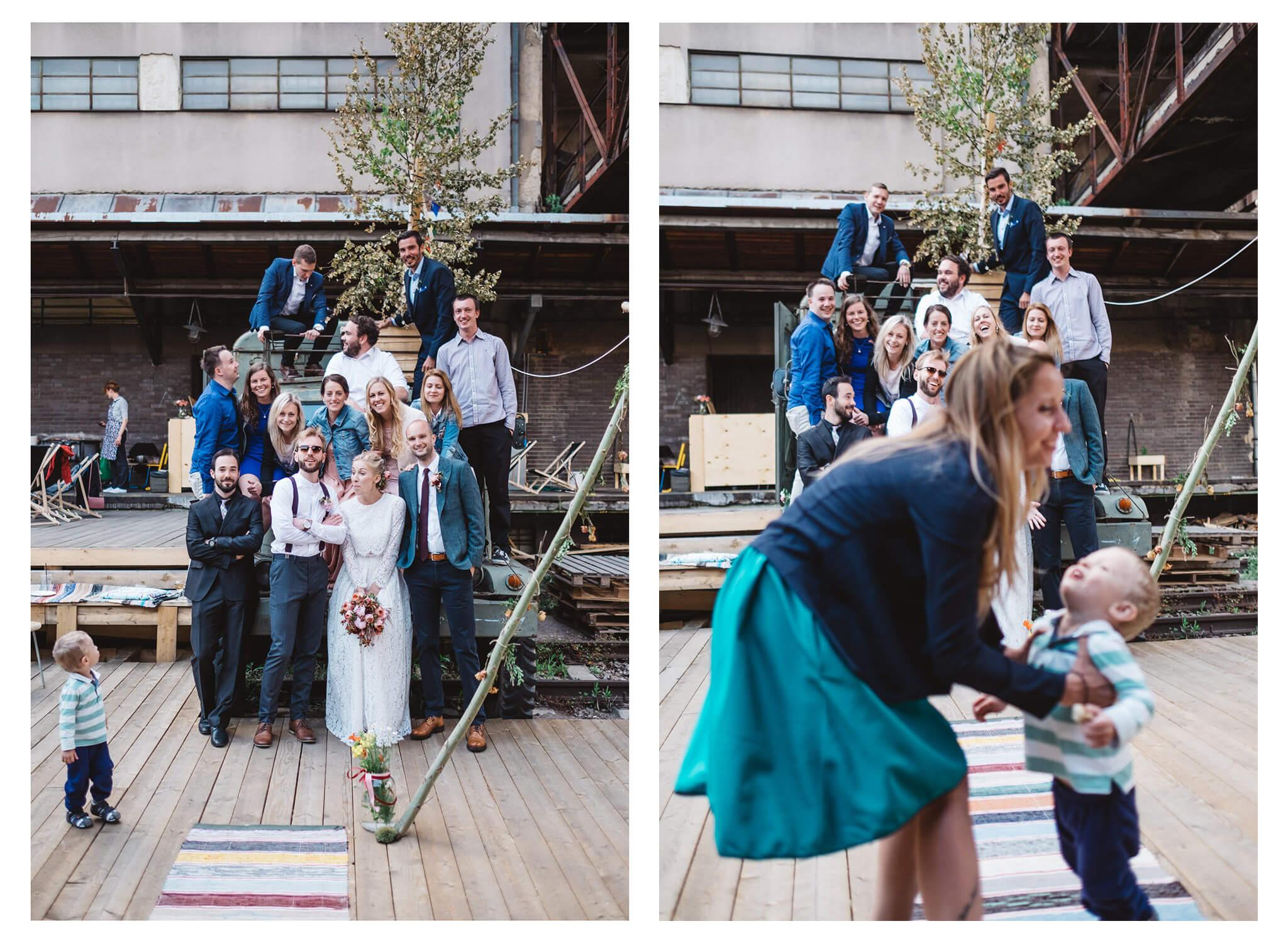 svatba na nákladovém nádraží žižkov Vojtěch Láznička